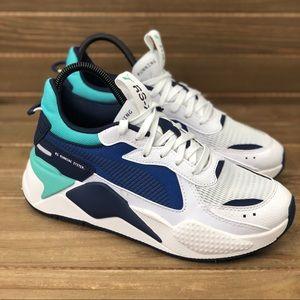 NEW Puma RS-X Hard Drive Galaxy Blue Running Shoes